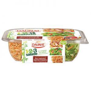 123 Salade Porc mariné et Légumes croquants