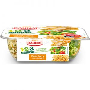 123 Salade Poulet Curry