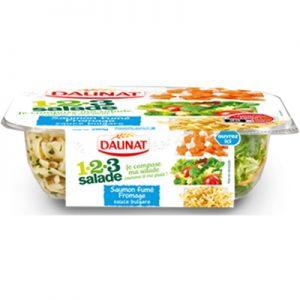 123 Salade Samon Fumé Fromage