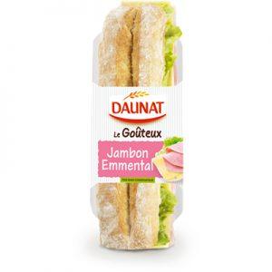 Baguette Le Goûteux Jambon Emmental 220G