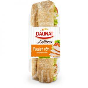 Baguette Le Goûteux Poulet Rôti Mayonnaise 220G
