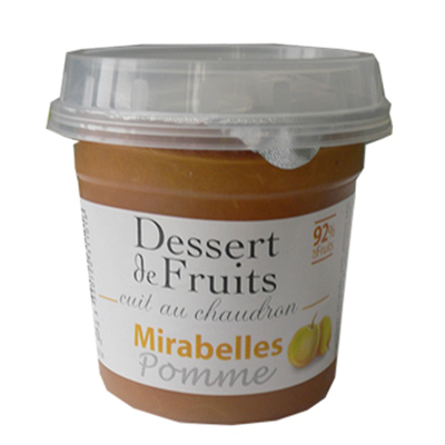Dessert de Fruit Mirabelles Pomme