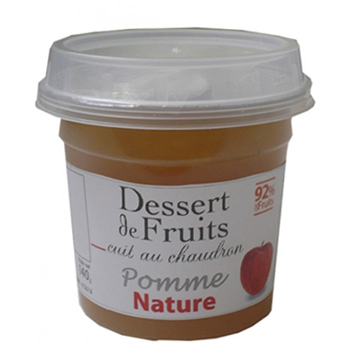 Dessert de Fruit Pomme nature