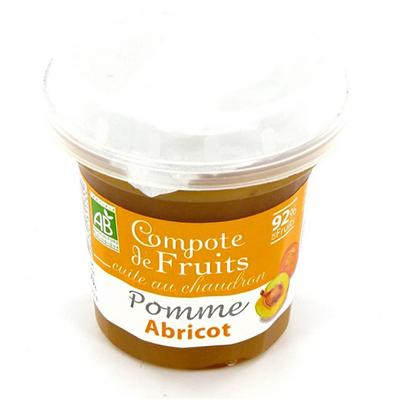 Dessert de Fruits Pomme Abricot Bergams