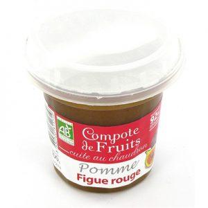 Dessert de Fruits Pomme Figue Rouge Bergams