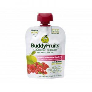 Gourde de Fruits Pomme Frambois Cranberry