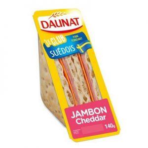 Le Club Suédois Jambon Cheddar