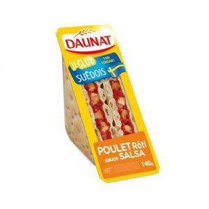 Le Club Suédois Poulet Rôti sauce Salsa