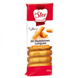 Madeleines longues Nature Le Ster