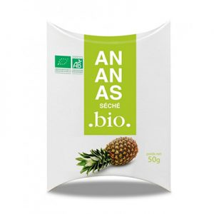 Sachet d'Ananas Séchée Bio