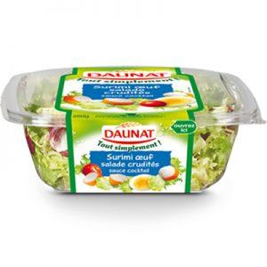 Salade Tout Simplement Surimi Crudités Daunat