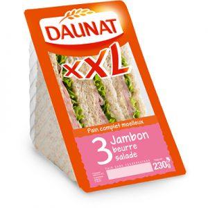 Triangle XXL Jambon Beurre