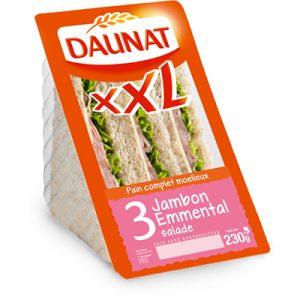 Triangle XXL Jambon Emmental Salade