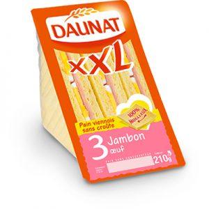 Triangle XXL Jambon Oeuf Sans Croûte