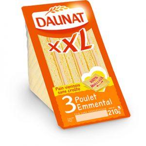 Triangle XXL Poulet Emmental Sans Croûte