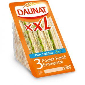 Triangle XXL Poulet Fumé Emmental