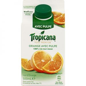 Tropicana Jus d'Orange 500ML