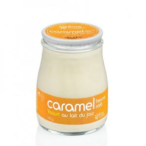 Yaourt Brassé Caramel Au Beurre Salé