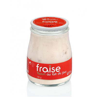 Yaourt Brassé Fraise